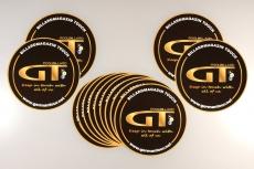 GT-Fan Aufkleber Ø 12 cm