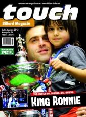 Billardmagazin Touch - Ausgabe 14 - Ronnie OSullivan