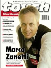 Billardmagazin Touch - Ausgabe 18 - Marco Zanetti