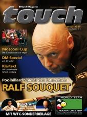 Billardmagazin Touch - Ausgabe 2 - Ralph Souquet