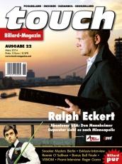 Billardmagazin Touch - Ausgabe 22 - Ralph G. Eckert Abenteuer USA