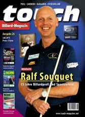 Billardmagazin Touch - Ausgabe 26 - Ralf Souquet