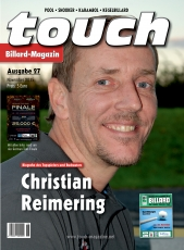 Billardmagazin Touch - Ausgabe 27 - Christian Reimering