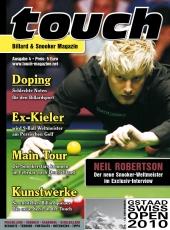 Billardmagazin Touch - Ausgabe 4 - Neil Robertson - LEIDER AUSVERKAUFT