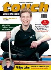 Billardmagazin Touch - Ausgabe 9 - Joshua Filler