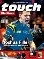 Billardmagazin Touch - Ausgabe 33 - Joshua Filler