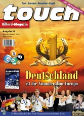 Billardmagazin Touch - Ausgabe 35 - Pool Europameisterschaft