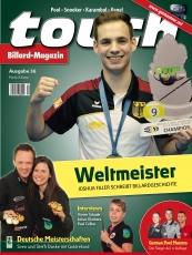 Billardmagazin Touch - Ausgabe 36 - Joshua Filler