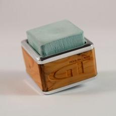 Sadeno-Cube Kreidehalter mit GT-Logo aus Holz
