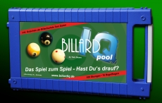 Billardtrainingsspiel Billard IQ designed by Tom Damm