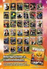 Billardmagazin Touch Second-Edition - Ausgaben Nummer 21-35