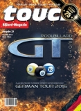 Billardmagazin Touch - Ausgabe 25 - Germantour 2015